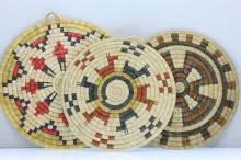 Three Hopi plaques
