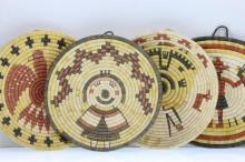Four Hopi pictorial plaques