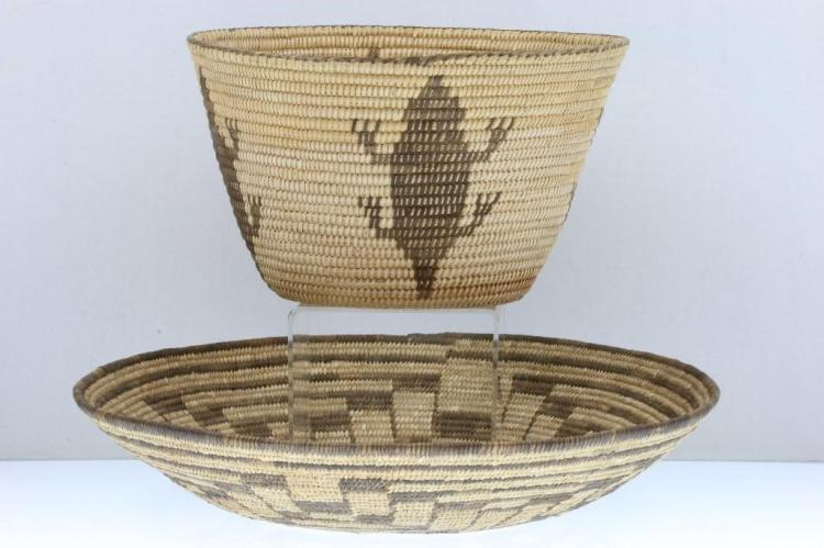 Two Southwest baskets