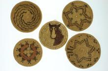 Five Navajo trays