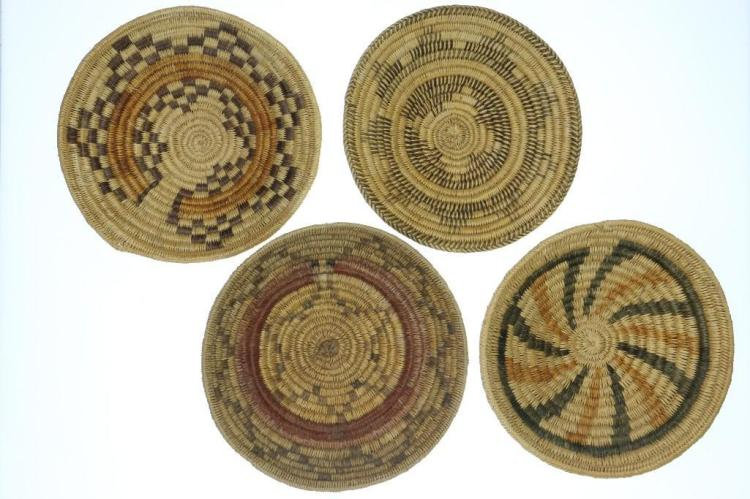 Four variations on the Navajo ceremonial tray