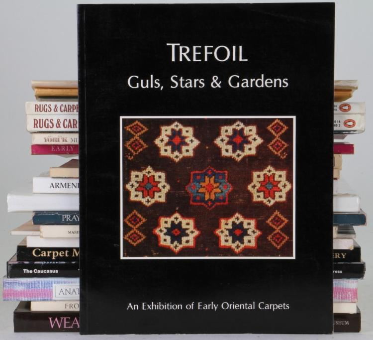 Twenty-one books on Oriental rugs