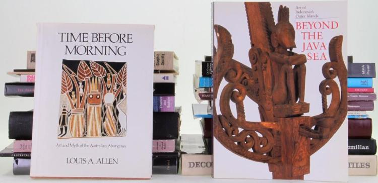 Twenty-three books on the art and culture of Indonesia,