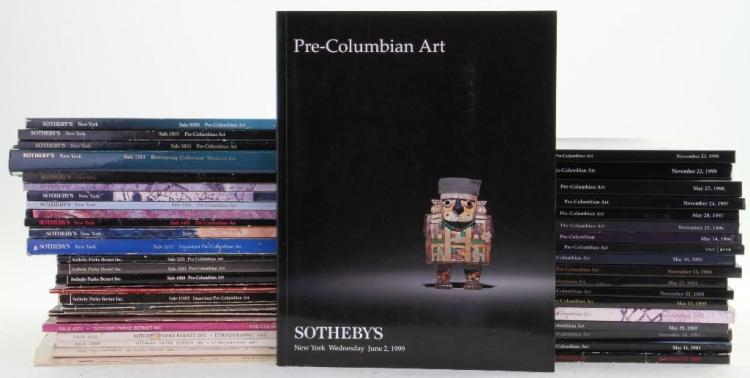 Forty-seven Sotheby's Pre-Columbian Art auction catalog