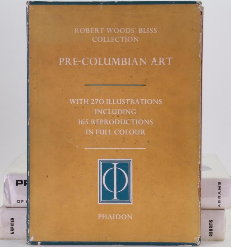 Three classic books on pre-Columbian art