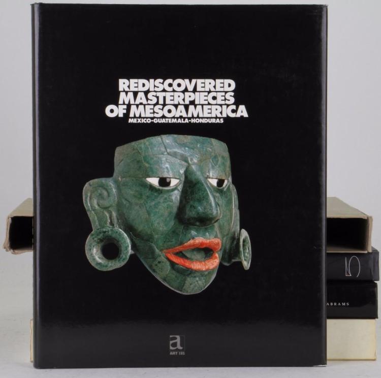 Four books on pre-Columbian art