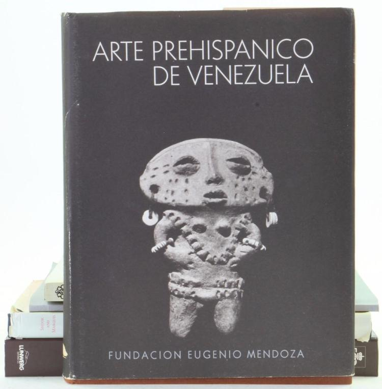 Five books on pre-Columbian art