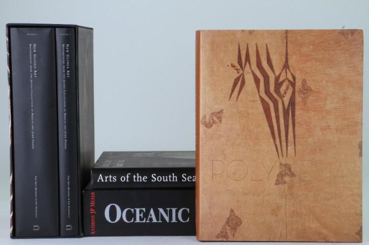 Four books on Oceanic art