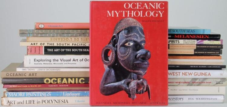 Thirty-two books on Oceanic art