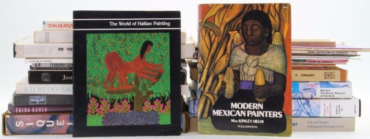 Thirty-one books and journals on Latin American art