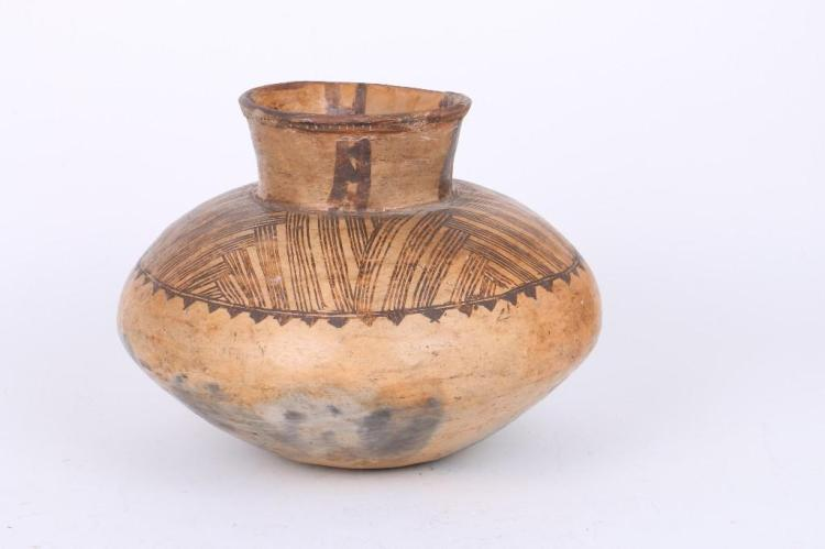 An ethnographic pottery jar