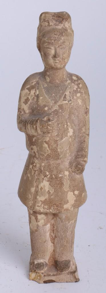 Chinese tomb figure of a herder