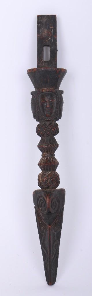 A Nepalese drum handle