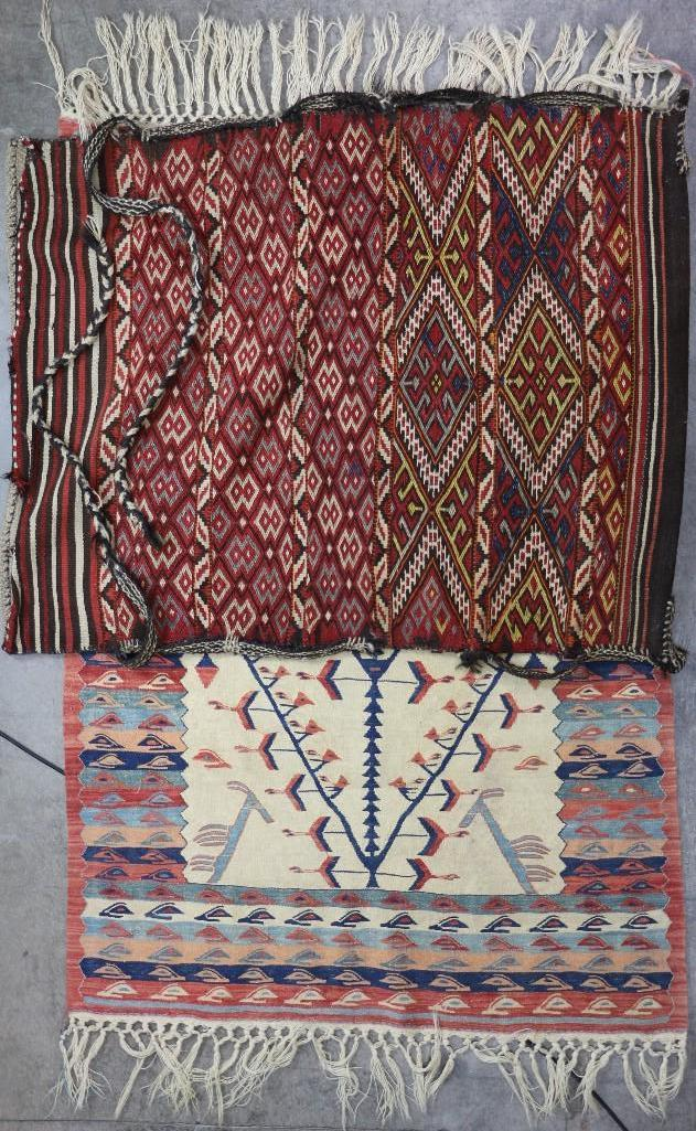 Two Turkish weavings