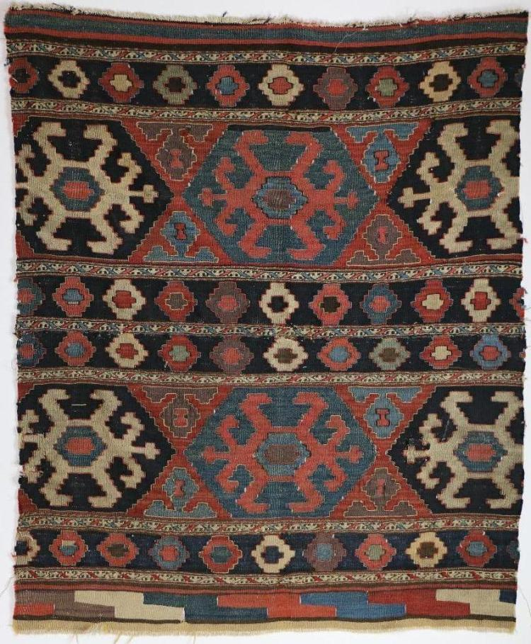 A Northwest Persian kilim bag face