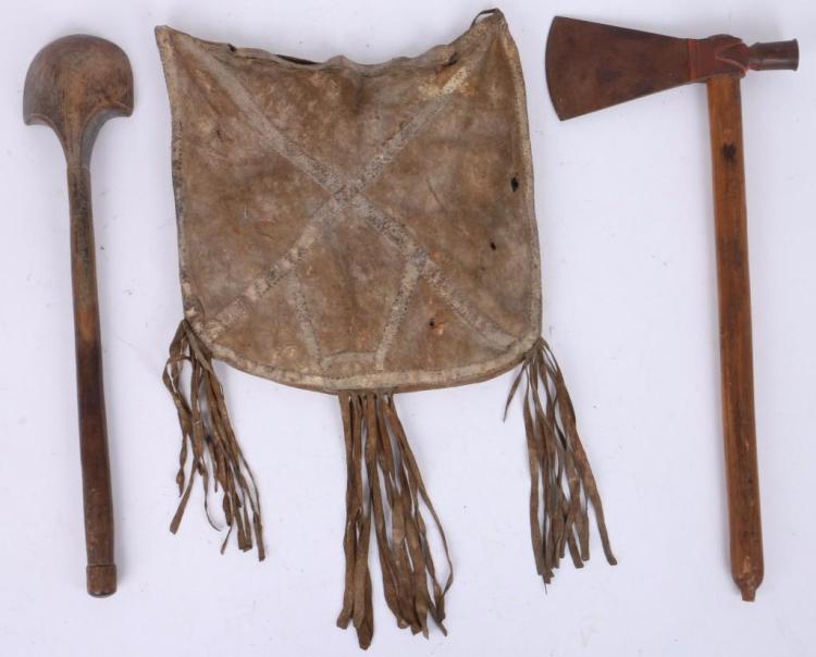 Three distinctive items