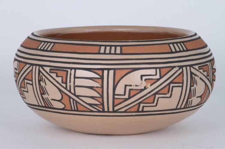 San Ildefonso polychrome bowl