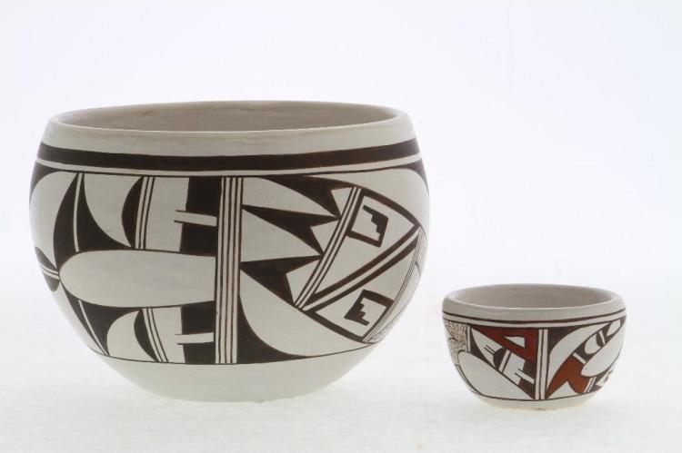Two Hopi bowls