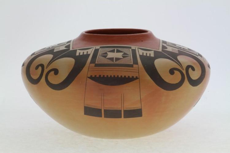 Hopi polychrome jar