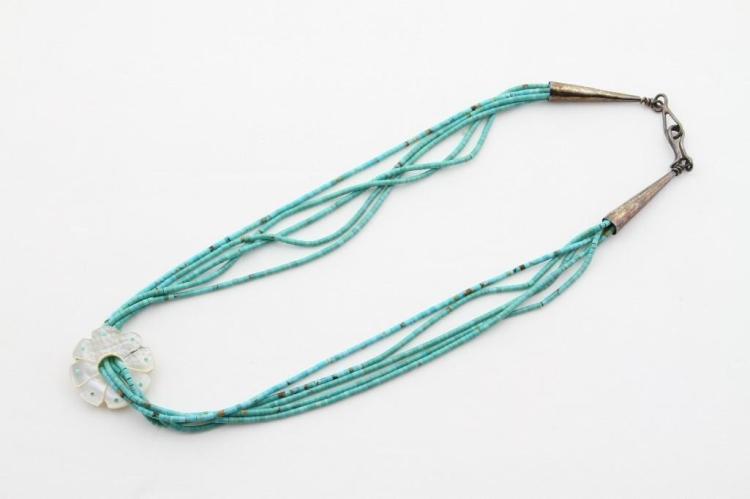 Santo Domingo heishi necklace