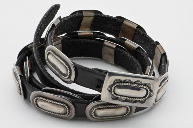Cochiti concha belt