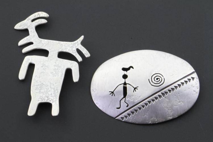 Two Navajo pins