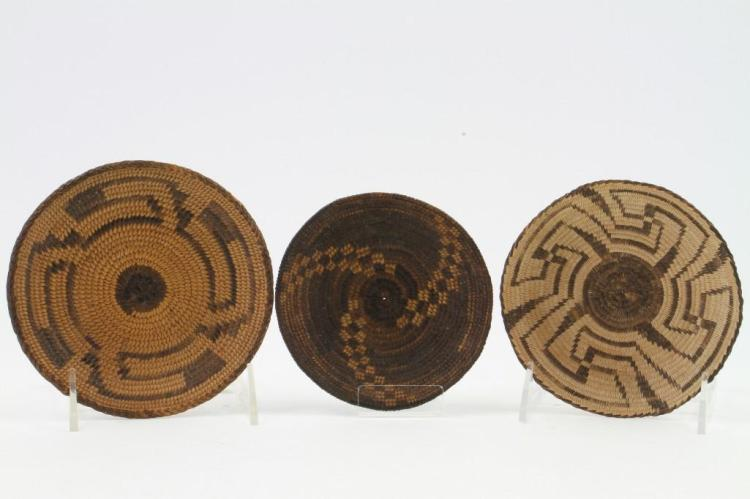 Three Pima miniature trays