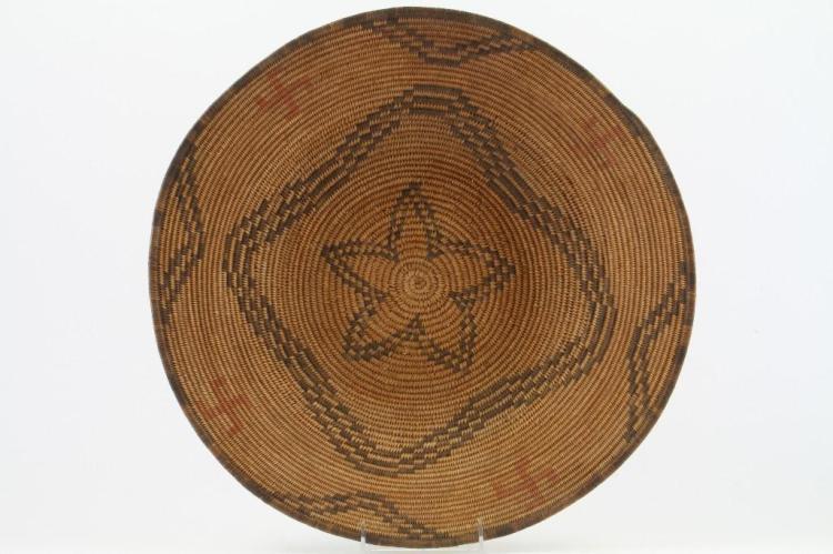 Apache polychrome tray