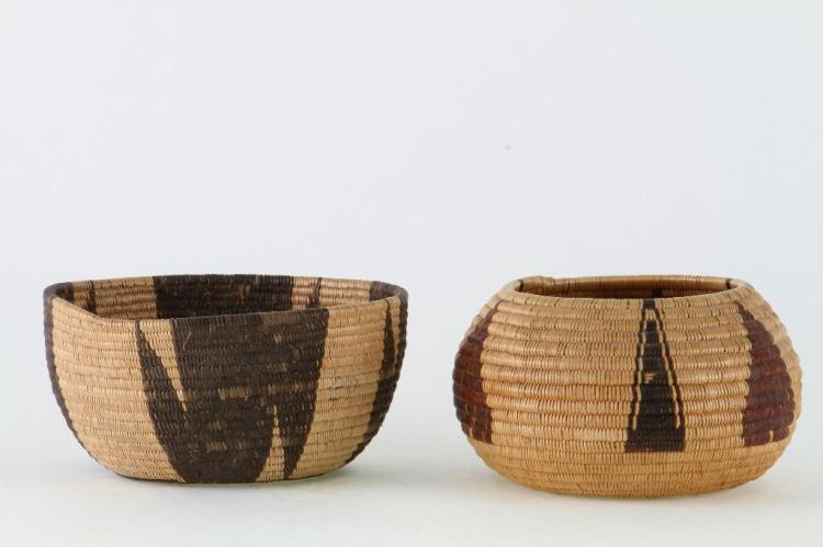 Two Washo or Paiute baskets