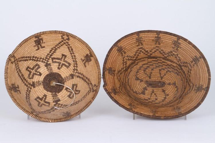 Two Apache baskets