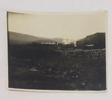 Original photograph of Mount Meron, 1929.