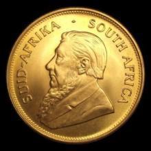 Gold 1 OZ. Random Date Gold Krugerrand