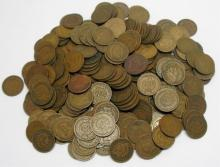Mixed Date Lot of (200) Indian Head Cents