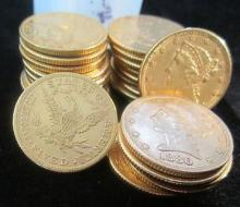 Random Date $ 5 Gold Liberty Coin (1)from image