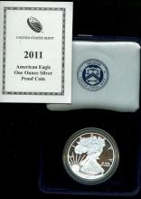 2011 US Silver Eagle Proof - In Mint Box