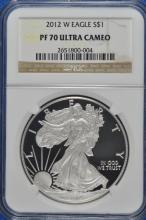 2012 W Proof 70 UCAMEO ASE NGC