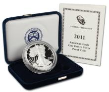 2011 US Proof Silver Eagle in Mint Box