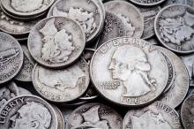 $1 face Value 90% Silver Coinage