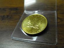 1 oz Gold Canadian Maple Leaf- Random Date