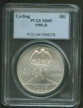 1995 D MS 69 Cycling PCGS