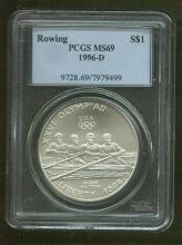 1996 D MS 69 Rowing PCGS