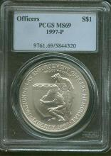 1997 P NLE MS 69 PCGS Officers