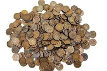 100 pcs. Indian Head Cents - Mixed dates and Grade