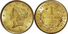 1853 $1 Gold Liberty Type I