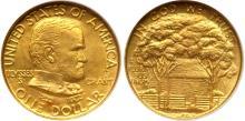 Scarce 1922 Grant Gold Commemorative