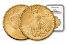 1908 NM MS 63 NGC $ 20 Gold Double Eagle