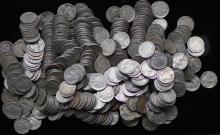 Lot of 500 Buffalo / Indian Head Nickels/ Partial