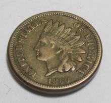 1860 Civil War Era Indian Head Cent