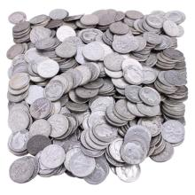(100) 90% Silver Roosevelt Dimes
