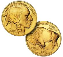 First Year Issue Gold Buffalo 1 oz 24k Pure